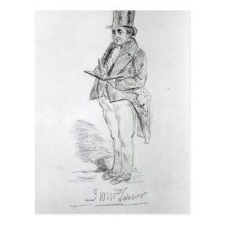 Joseph Mallord William Turner, 1844 Postcard