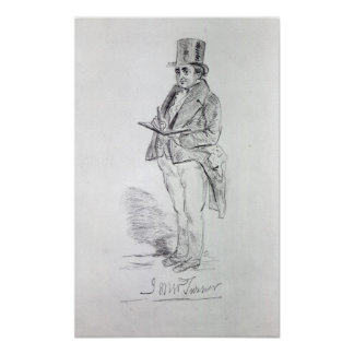 Joseph Mallord William Turner, 1844 Poster