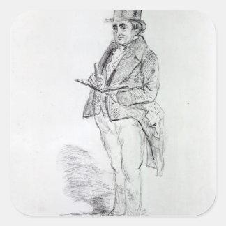 Joseph Mallord William Turner, 1844 Square Sticker