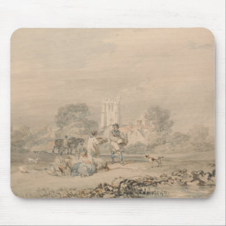 Joseph Mallord William Turner - Autumn Sowing Mouse Pad