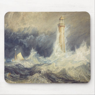 Joseph Mallord William Turner - Bell Rock Mouse Pad