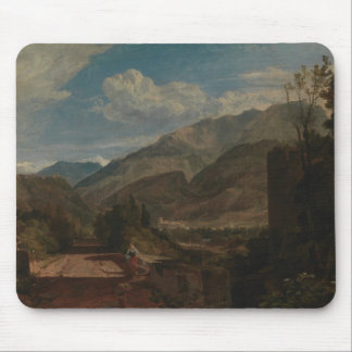Joseph Mallord William Turner - Chateau de St. Mouse Pad