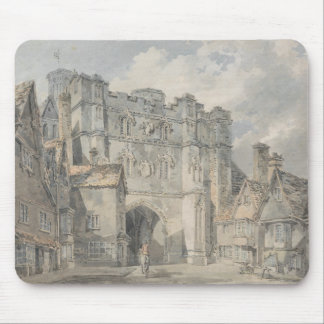 Joseph Mallord William Turner - Christ Church Gate Mouse Pad