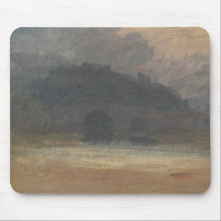 Joseph Mallord William Turner - Evening Landscape Mouse Pad