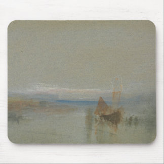 Joseph Mallord William Turner - Fishing Boats Mouse Pad