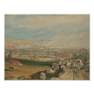 Joseph Mallord William Turner - Leeds Poster