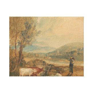 Joseph Mallord William Turner - Lulworth Castle Canvas Print
