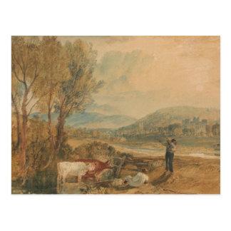 Joseph Mallord William Turner - Lulworth Castle Postcard