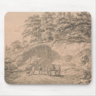 Joseph Mallord William Turner - Man with Horse Mouse Pad