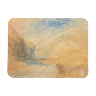 Joseph Mallord William Turner - Mountain Landscape Magnet