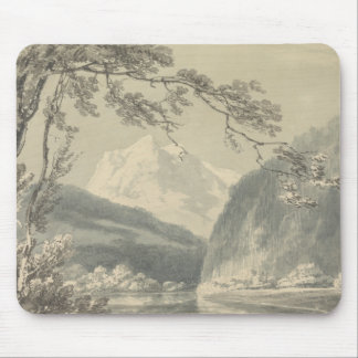 Joseph Mallord William Turner - Near Grindelwald Mouse Pad