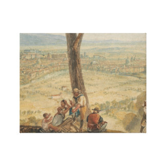 Joseph Mallord William Turner - Rome from Monte Canvas Print