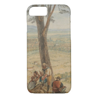 Joseph Mallord William Turner - Rome from Monte iPhone 8/7 Case