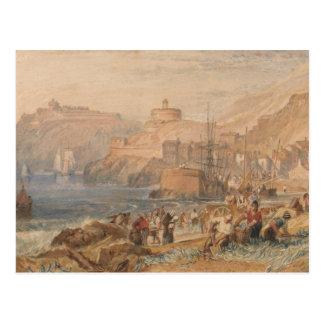 Joseph Mallord William Turner - St. Mawes, Cornwal Postcard