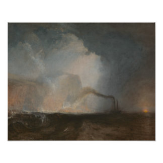 Joseph Mallord William Turner - Staffa, Fingal's Poster