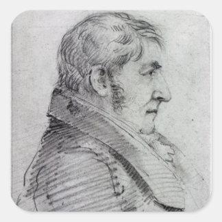 Joseph Mallord William Turner Square Sticker