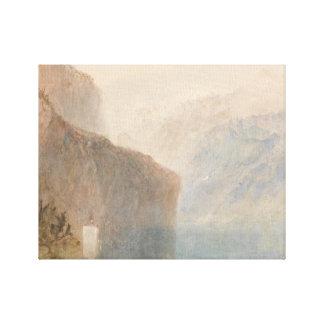 Joseph Mallord William Turner - Tell's Chapel Canvas Print