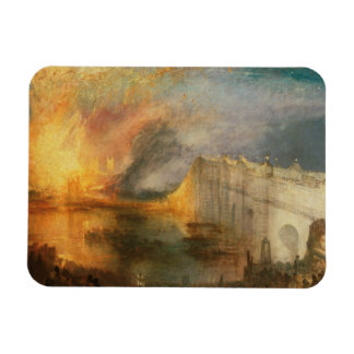 Joseph Mallord William Turner - The Burning of the Magnet