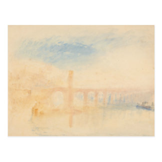 Joseph Mallord William Turner - The Moselle Bridge Postcard