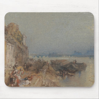Joseph Mallord William Turner - Tours - Sunset Mouse Pad