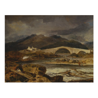 Joseph Mallord William Turner - Tummel Bridge Postcard