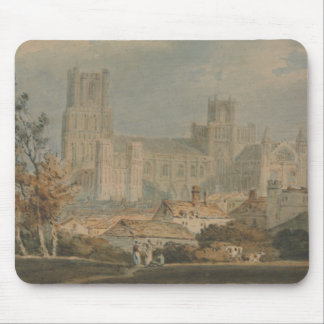 Joseph Mallord William Turner - View of Ely Mouse Pad