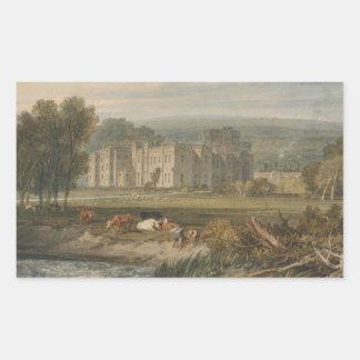 Joseph Mallord William Turner - View of Hampton Rectangular Sticker