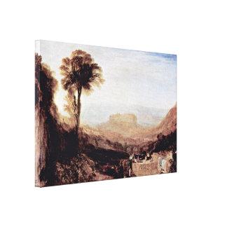 Joseph Mallord William Turner - View of Orvieto Canvas Print