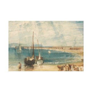 Joseph Mallord William Turner - Weymouth Canvas Print