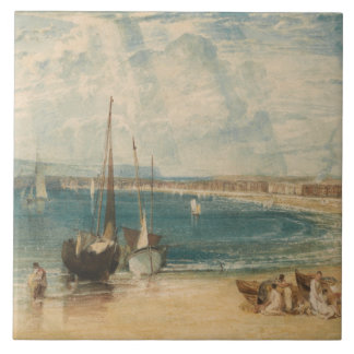 Joseph Mallord William Turner - Weymouth Tile