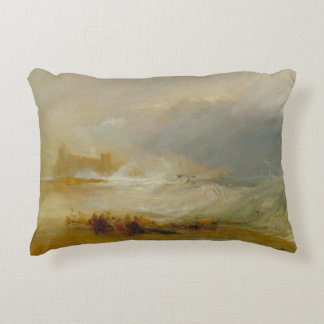 Joseph Mallord William Turner - Wreckers Decorative Pillow