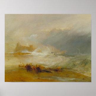 Joseph Mallord William Turner - Wreckers Poster