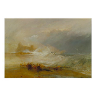 Joseph Mallord William Turner - Wreckers Poster