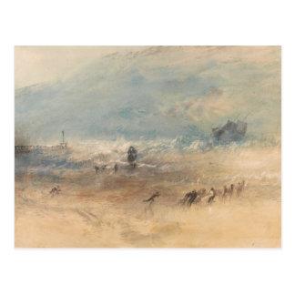Joseph Mallord William Turner - Yarmouth Sands Postcard