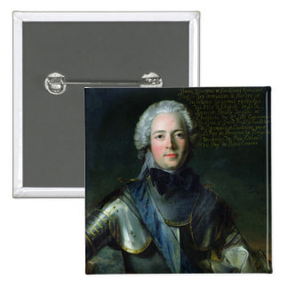 Joseph-Marie Duc de Boufflers Pinback Buttons