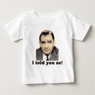 Joseph McCarthy Baby T-Shirt