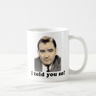 Joseph McCarthy Coffee Mug