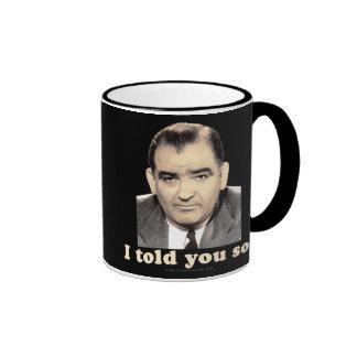 Joseph McCarthy Ringer Mug