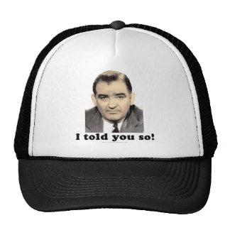 Joseph McCarthy Trucker Hat