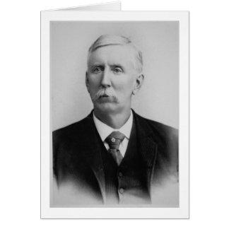 Joseph McCoy (1837-1915) (b/w photo) Card