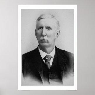 Joseph McCoy (1837-1915) (b/w photo) Poster