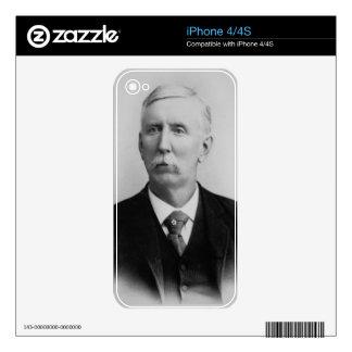 Joseph McCoy (1837-1915) (b/w photo) Skin For iPhone 4S