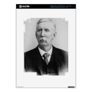 Joseph McCoy (1837-1915) (b/w photo) Skins For iPad 3