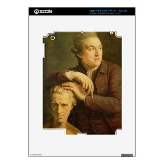 Joseph Nollekens (1737-1823) with his bust of Laur Skin For iPad 3