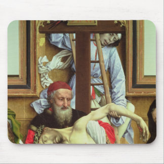 Joseph of Arimathea Supporting the Dead Christ Mouse Pad