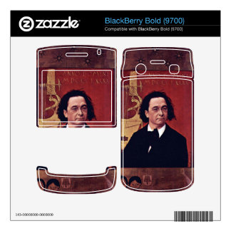 Joseph Pembauer by Gustav Klimt BlackBerry Bold Decal