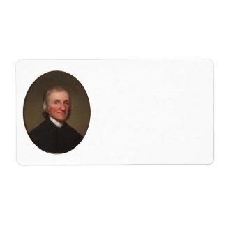 Joseph Priestley Shipping Label