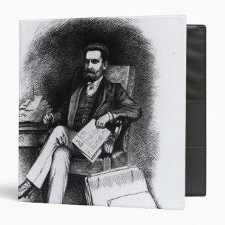 """Joseph Pulitzer """"del objeto curioso"""", 1887 Carpeta 1 1/2"""""""