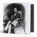 Joseph Pulitzer  from 'The Curio', 1887 3 Ring Binders