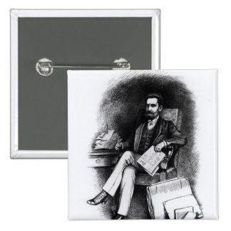 Joseph Pulitzer from The Curio 1887 Pins